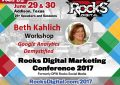Beth Kahlich, Nationally Recognized SEO Trainer, to Lead Google Analytics Workshop at Rocks Digital