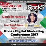 Danielle Hanson Thinknear Rocks Digital panelist