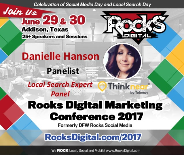 Thinknear's Danielle Hanson Joins Local Search Expert Panel at Rocks Digital 2017