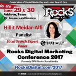 Hillit Meidar-Alfi, Local Search Expert Panelist at Rocks Digital 2017