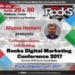 Moose Hemani to Speak at Rocks Digital Marketing Conference 2017