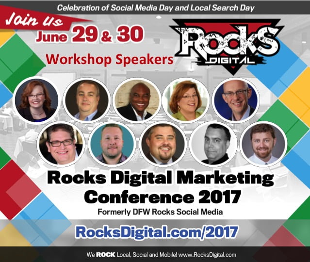 Digital Marketing Is Evolving – Are You? These Rocks Digital Workshops Are For You!