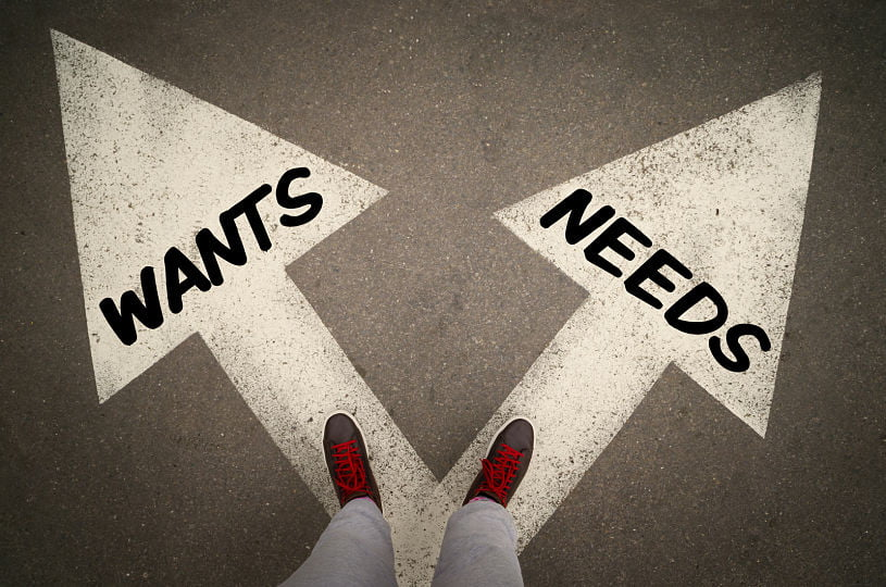 Wants vs. Needs: Priorities in Your Digital Marketing