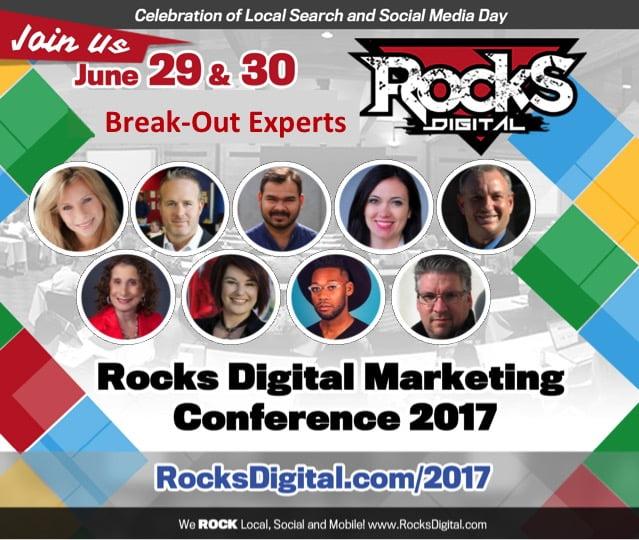 Rocks Digital 2017 Break-Out Sessions