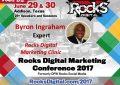 Byron Ingraham Shares his Marketing Strategy Expertise at the #RocksDigital Marketing Clinic