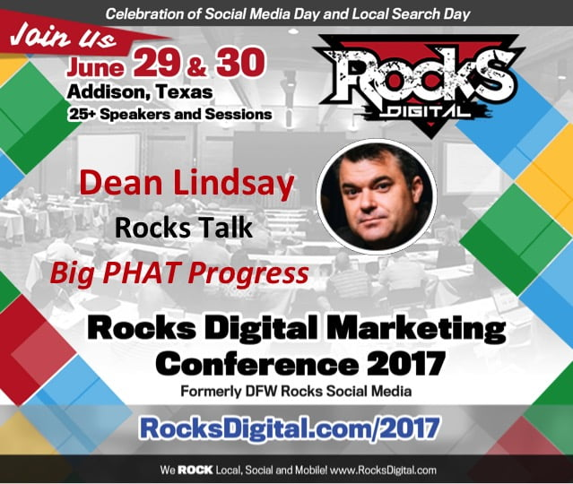 Host of The Dean's List, Dean Lindsay, to Inspire and Motivate in His Rocks Talk at Rocks Digital 2017