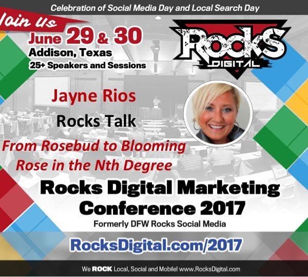 Jayne Rios, Founder of WBTVN, to Present Rocks Talk on Brand Messaging at #RocksDigital 2017