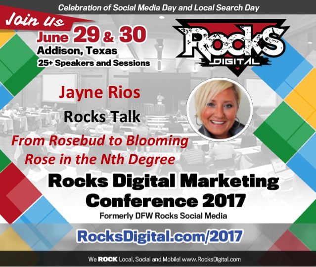 Jayne Rios, Founder of WBTVN, to Present Rocks Talk on Brand Messaging at #RocksDigital 2017