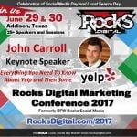 John Carroll Yelp Rocks Digital