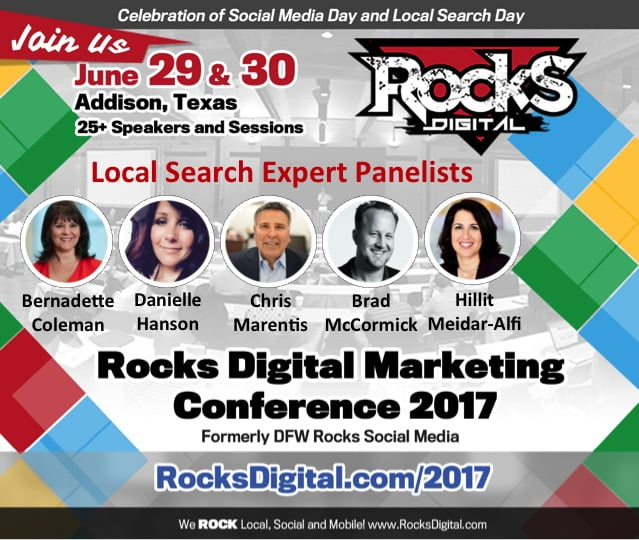 Local Search Day 2017 Expert Panel