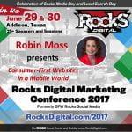 Robin Moss to Speak at Rocks Digital Marketing Conference in Dallas 2017