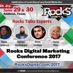 Rocks Talks 2017 Speakers