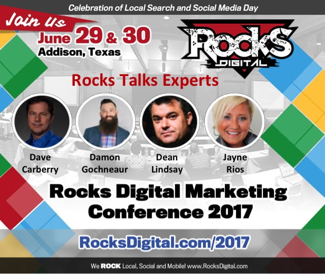 The Rocks Talks Will ROCK Your Local, Mobile and Social Digital Strategies