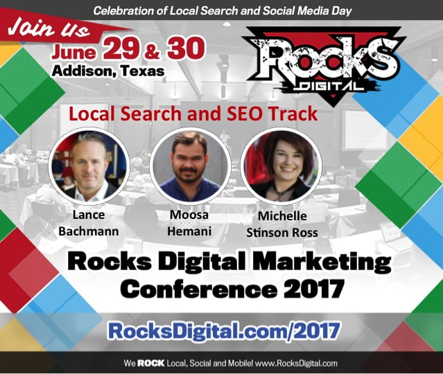 Local Search and SEO Experts Travel from Far and Wide to Share Their Knowledge at Rocks Digital 2017