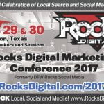Rocks Digital Marketing Conference - Texas 2017