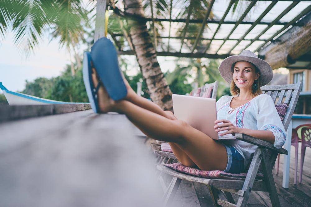 Social Media on Vacation