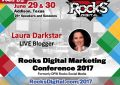 Laura Darkstar Will Be LIVE Blogging at #RocksDigital 2017