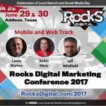 Rocks Digital 2017 Mobile and Web Track Speakers