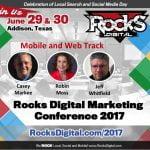 Rocks Digital 2017 Mobile and Web Track Speakers