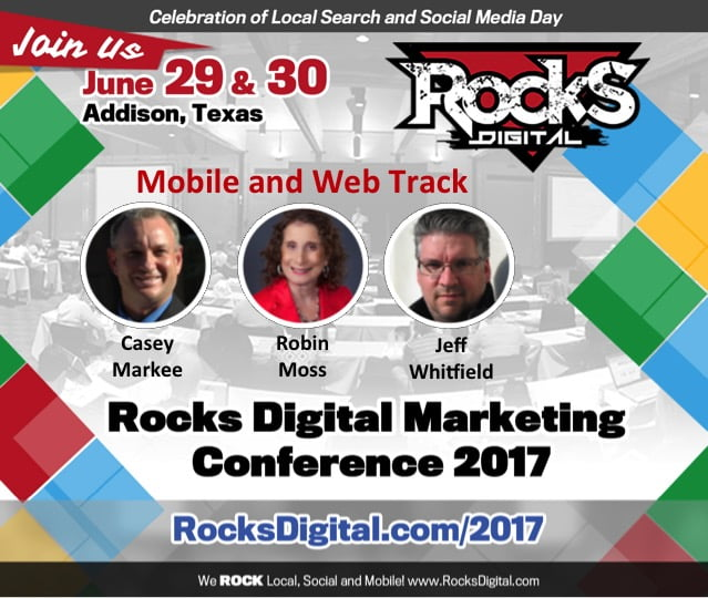 Consumer-First Mobile and Web Marketing Strategies Come to Rocks Digital 2017