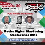 paid media workshops rocks digital 2017