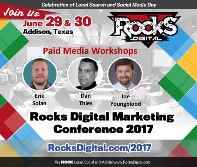 Turn Advertising Dollars into Conversions with these Rocks Digital Paid Media Workshops