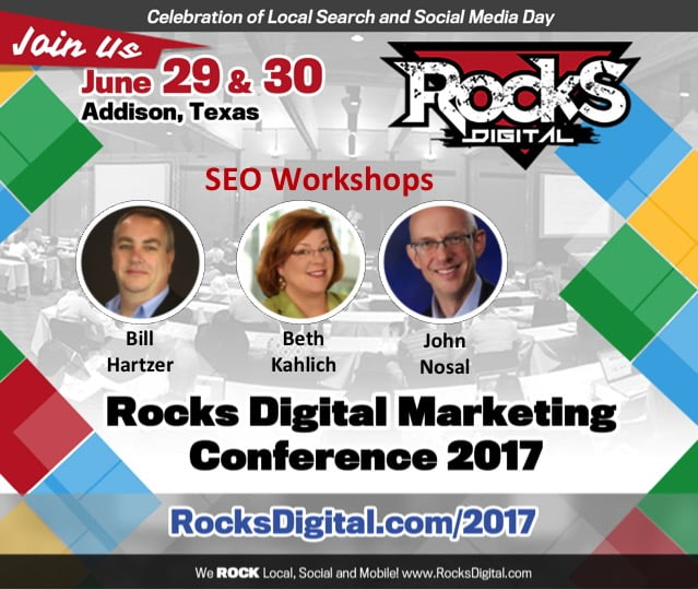 The Mysteries of SEO Explored and Explained in 2017's Rocks Digital Workshops