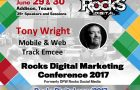 Search Marketing Expert, Tony Wright, to Emcee the Mobile and Web Track at Rocks Digital 2017