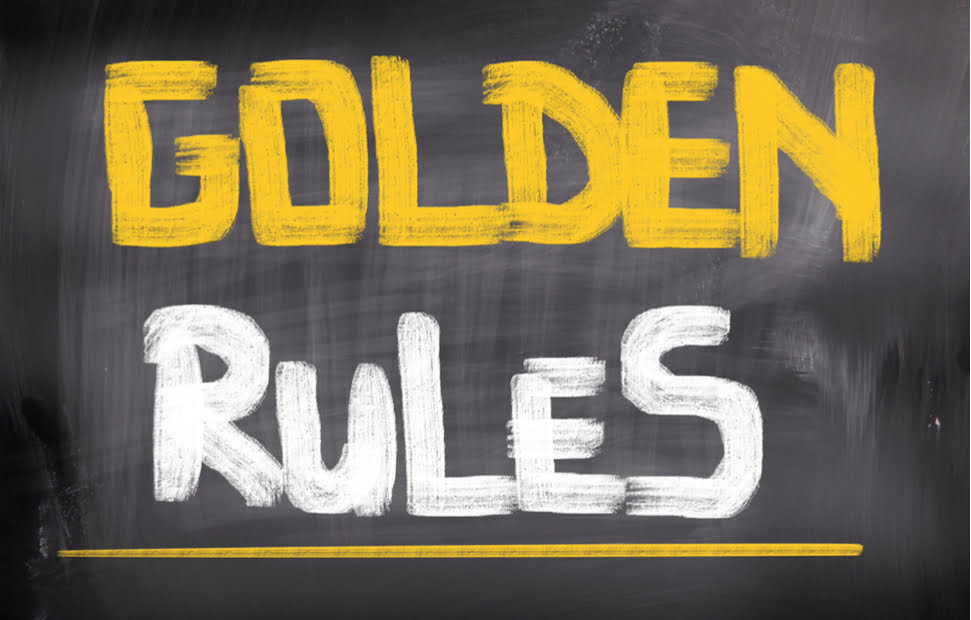 Golden Rules on Goal Setting