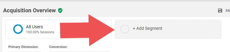 A/B Split Testing - Adding segments