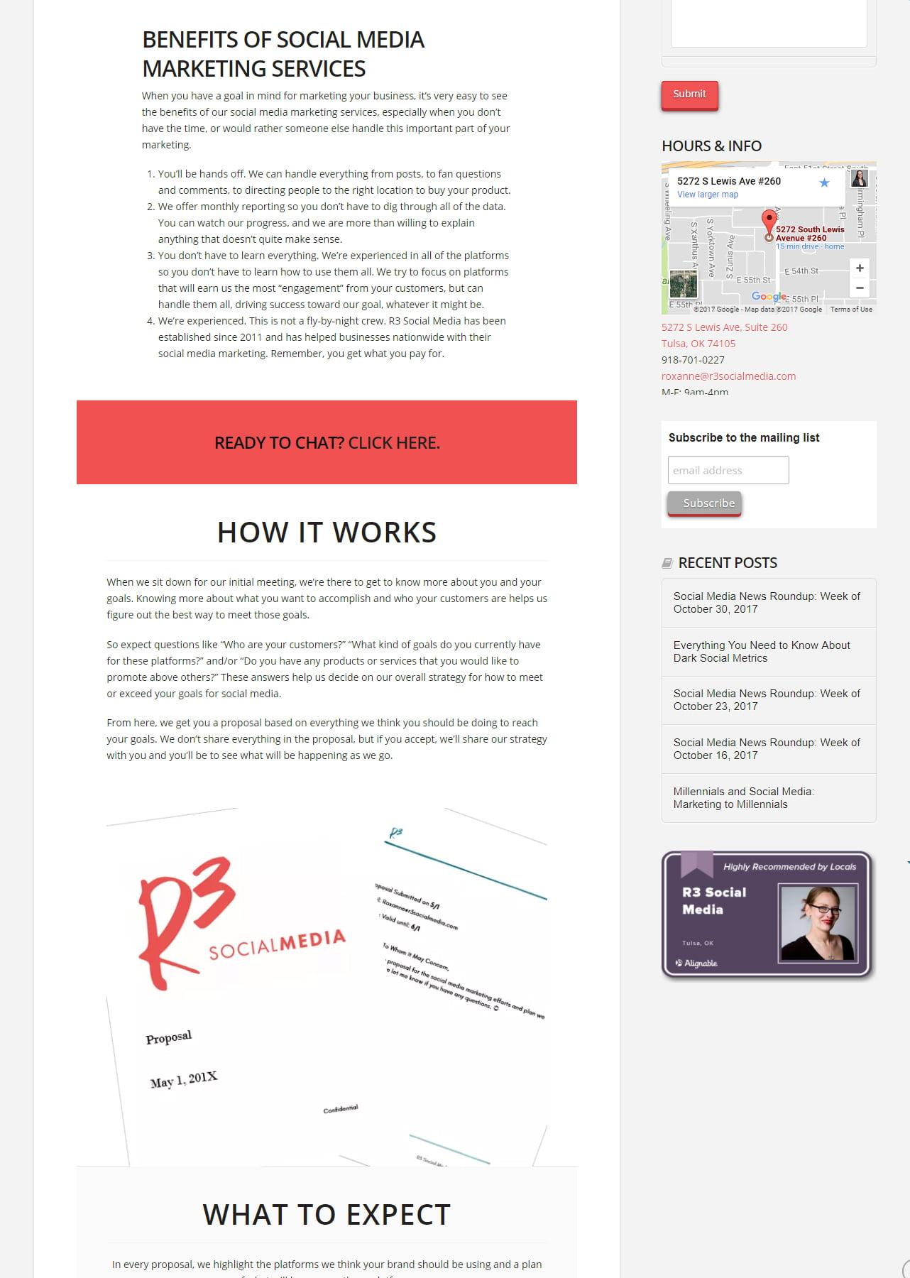 A/B Split Testing - Social Media Marketing Services Landing Pages