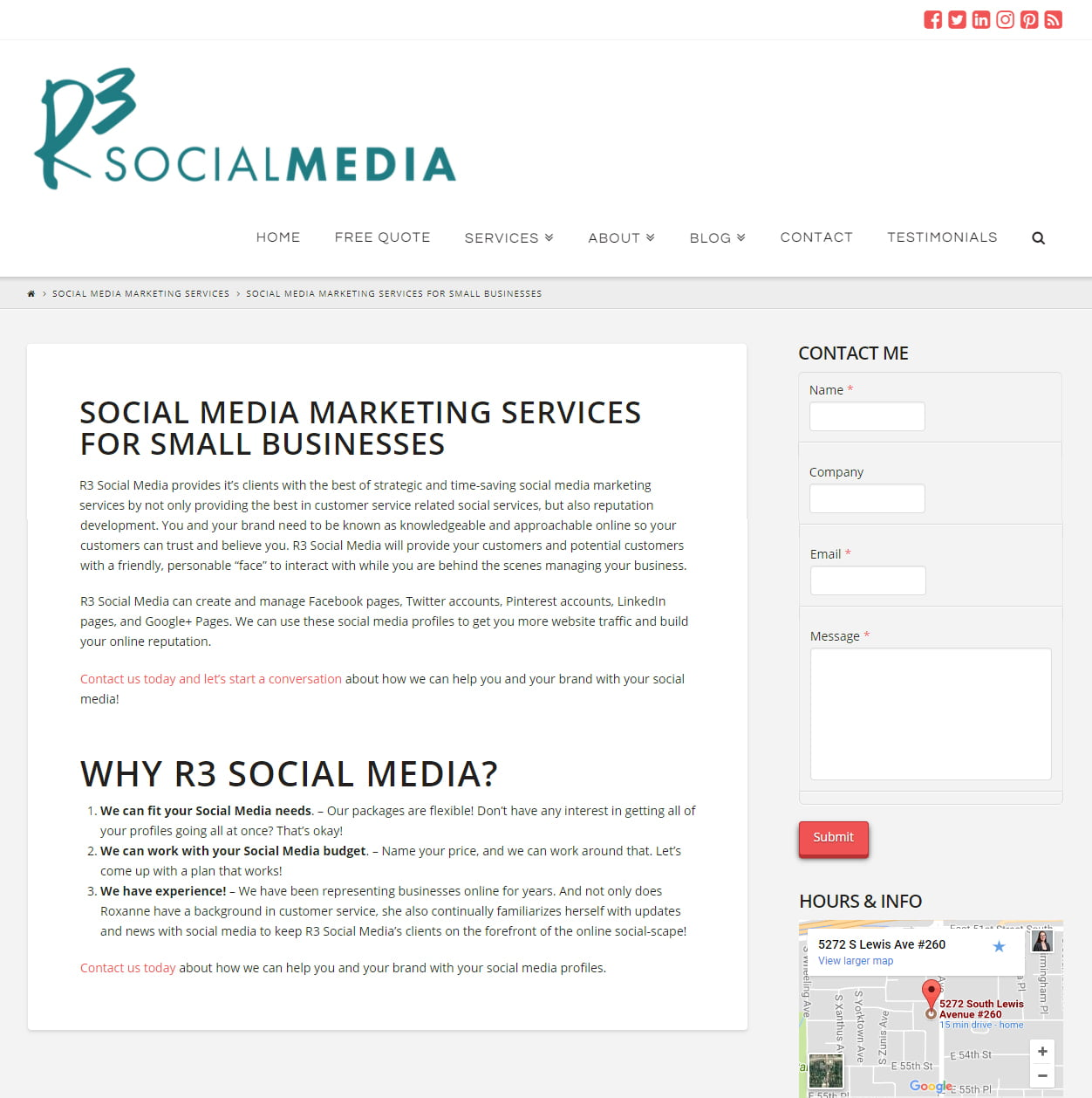 A/B Split Testing - Social Media Landing Pages