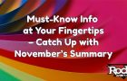 Must-Know Digital Marketing Info at Your Fingertips – Catch Up with November's Summary