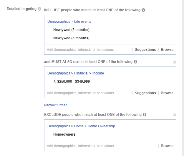 Facebook Detailed Ad Targeting