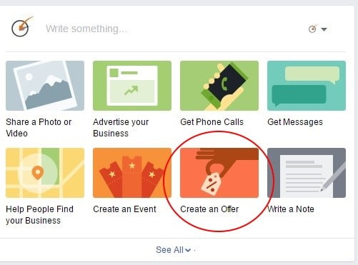 Facebook Advertising - Create an Offer