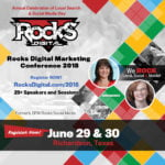 Rocks Digital Marketing Conference 2018 in Dallas, Texas