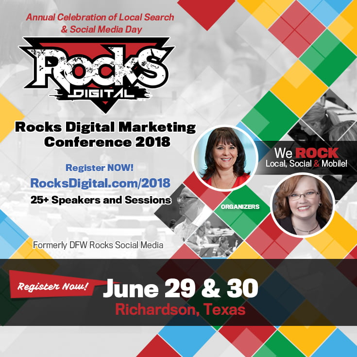 Take Action Today – Registration for Rocks Digital 2018 is Open