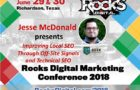 Jesse McDonald to Speak on Technical SEO and Off-Site Signals at Rocks Digital 2018