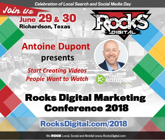 Antoine Dupont to Speak on Creating Videos People Want to Watch at Rocks Digital 2018