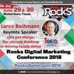 Lance Bachmann, 1SEO CEO, to Keynote at Rocks Digital 2018