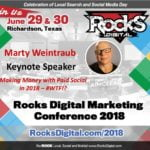 Marty Weintraub, Social Media Maverick, to Keynote on Paid Social at Social Media Day 2018 in Dallas