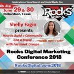 Shelly Fagin, SEMrush Community Manager, to Present on Facebook Groups at Rocks Digital 2018
