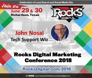 The CEO of SEO, John Nosal, to Be Our Tech Support Wiz at Rocks Digital 2018