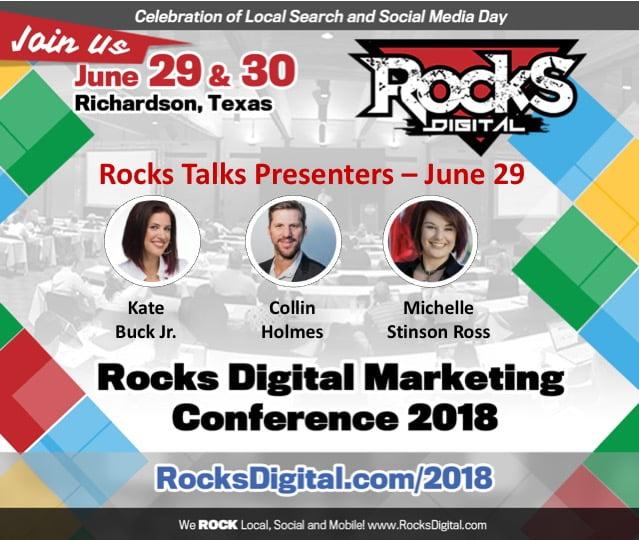 Rocks Talks 2018