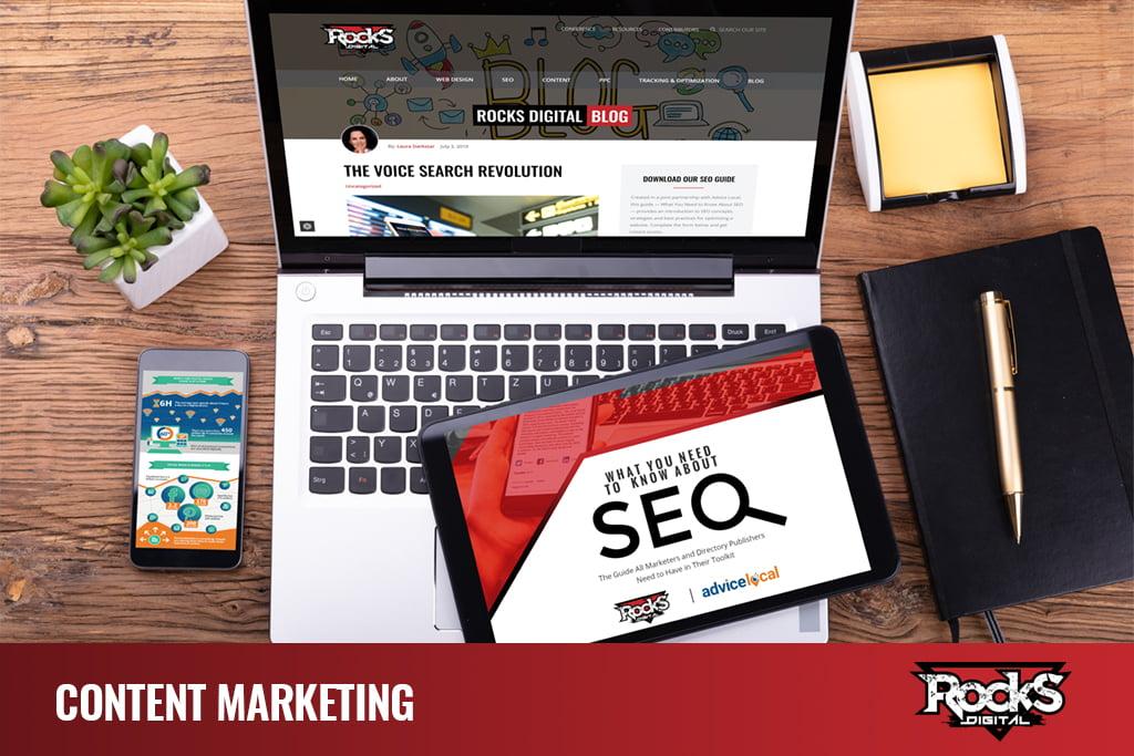 Content Marketing Strategies - Digital Marketing Agency Services