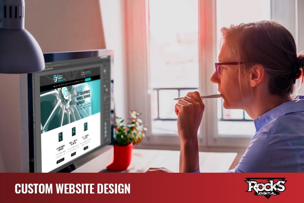 Custom Website Design - Digital Marketing Agency Services
