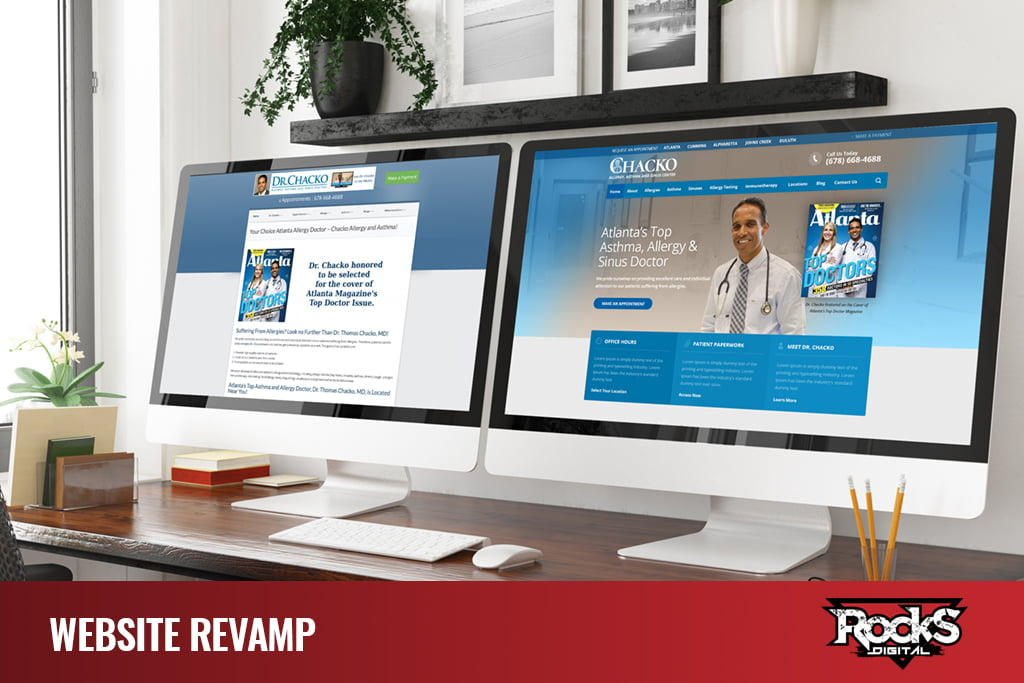 Website Redesign - - Digital Marketing Agency Services
