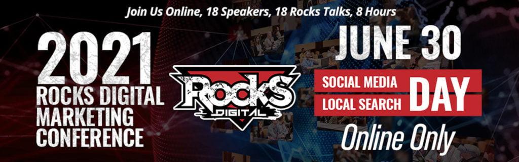 2021 Rocks Digital Marketing Conference in Dallas